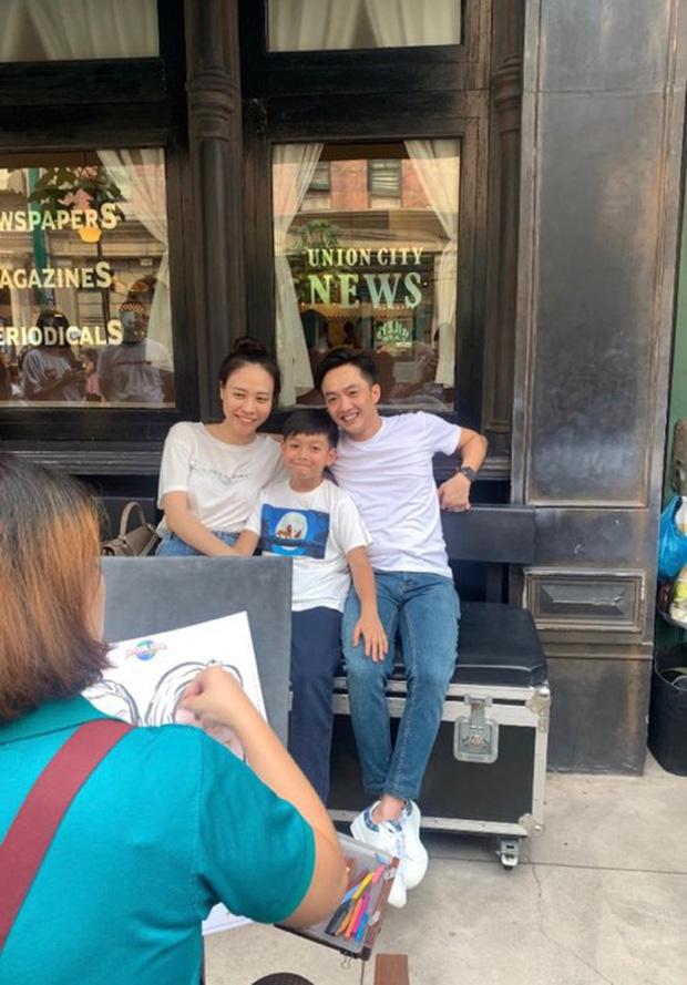Cường Đô La nhí nhảnh hết mức bên Đàm Thu Trang và con trai Subeo trong chuyến đi nghỉ đầu tiên sau đám cưới - Ảnh 4.