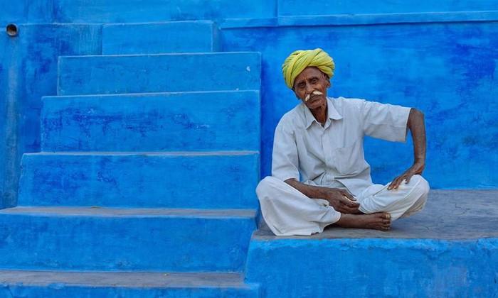 Mát mắt với những địa điểm màu xanh dương trên thế giới