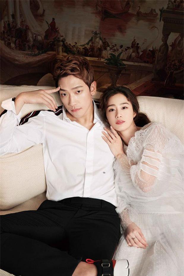 Kim Tae Hee bầu bí tháng cuối thai kỳ, Bi Rain vẫn vất vả quay phim đến xanh xao cố kiếm thêm tiền bỉm sữa? - Ảnh 5.