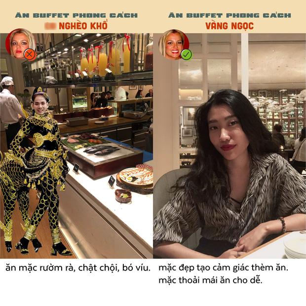 Chết cười với bộ ảnh ăn buffet phong cách vàng ngọc của Tạ Quốc Kỳ Nam, tưởng chỉ chọc cười nhưng nghĩ lại thấy đúng muôn phần - Ảnh 13.