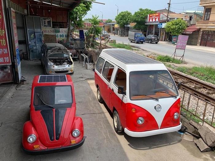 Nam sinh lớp 12 tiếp tục 'trình làng' xe ô tô năng lượng mặt trời