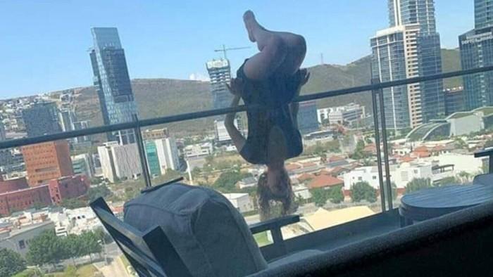 Treo người ra ngoài ban công tập yoga, nữ sinh ngã từ lầu 6