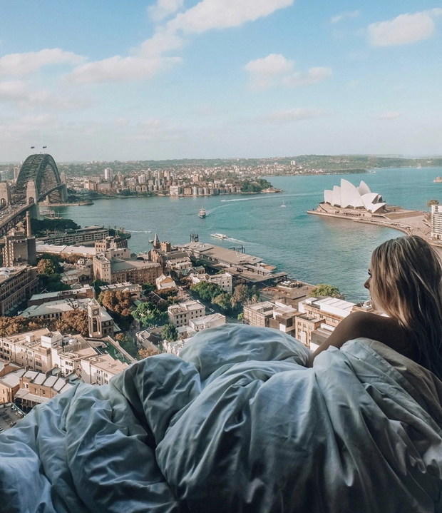 """Top 5 chiếc giường """"thần thánh"""" nổi danh hàng đầu Instagram, dân du lịch đánh nhau sứt đầu mẻ trán để được check-in một lần - Ảnh 1."""