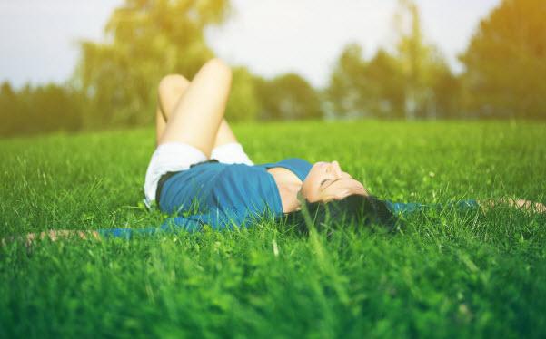 Thiên nhiên đem đến cảm giác dễ chịu và bình yên
