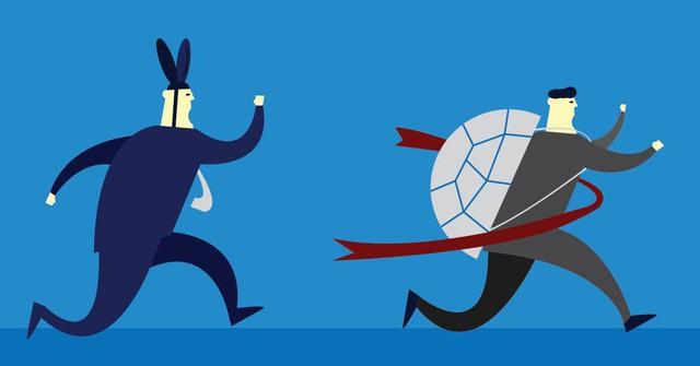 Rùa và thỏ trong môi trường công sở: Rùa sống vội để thành công, thỏ sống chậm để tận hưởng, bạn là ai? - Ảnh 3.