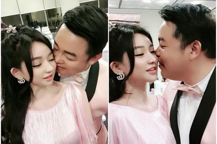 Vẻ gợi cảm của hot girl một đời chồng bị đồn hẹn hò Quang Lê
