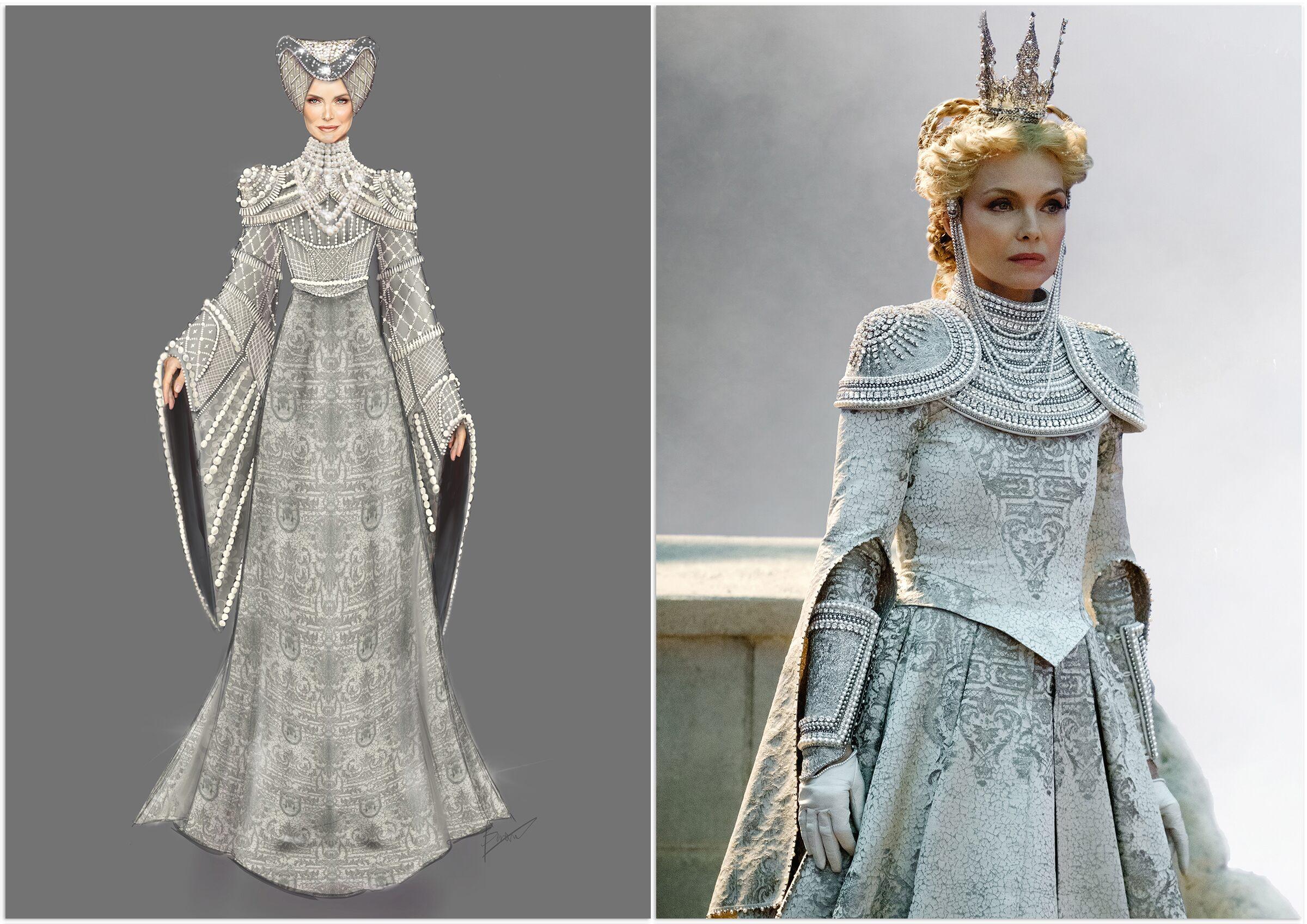Hoàng hậu Ingrith trong trận chiến trong Tiên hắc ám 2