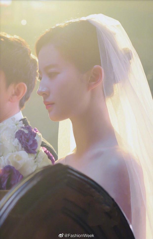 Chùm ảnh Lưu Diệc Phi mặc váy cưới: Giai nhân tuyệt mỹ đẹp từng góc độ, bảo sao danh xưng Thần tiên tỷ tỷ chưa ai lật đổ - Ảnh 6.