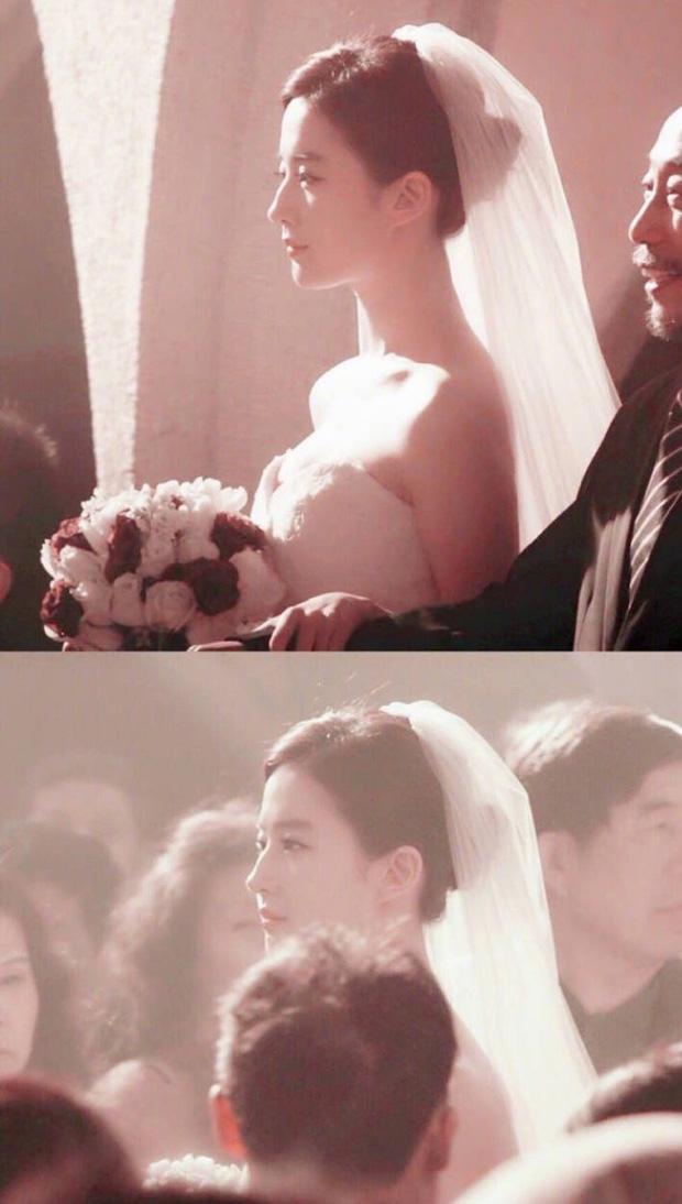 Chùm ảnh Lưu Diệc Phi mặc váy cưới: Giai nhân tuyệt mỹ đẹp từng góc độ, bảo sao danh xưng Thần tiên tỷ tỷ chưa ai lật đổ - Ảnh 3.