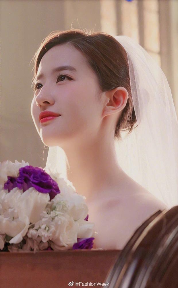 Chùm ảnh Lưu Diệc Phi mặc váy cưới: Giai nhân tuyệt mỹ đẹp từng góc độ, bảo sao danh xưng Thần tiên tỷ tỷ chưa ai lật đổ - Ảnh 8.