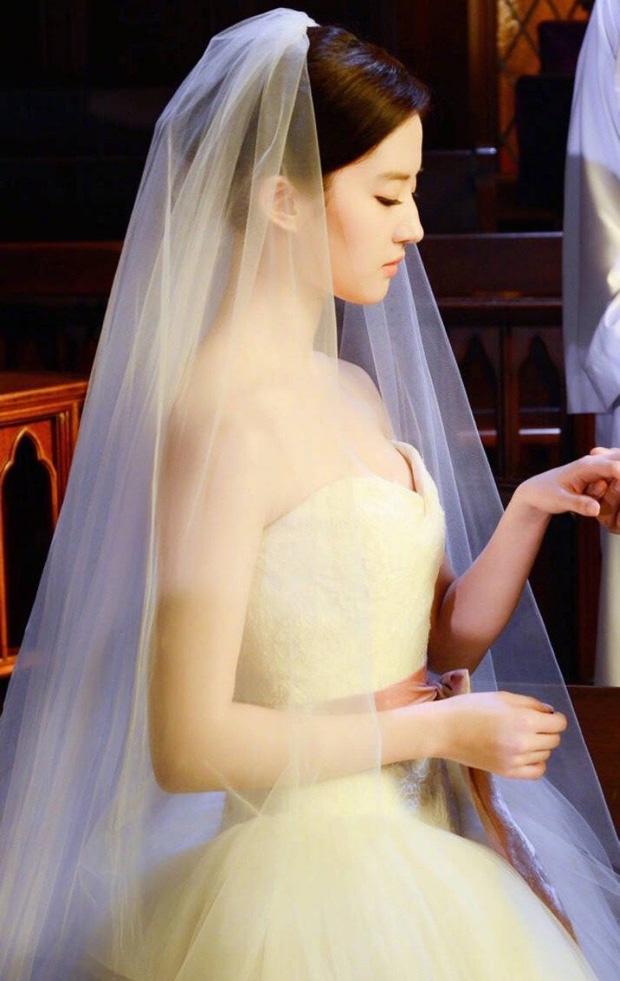 Chùm ảnh Lưu Diệc Phi mặc váy cưới: Giai nhân tuyệt mỹ đẹp từng góc độ, bảo sao danh xưng Thần tiên tỷ tỷ chưa ai lật đổ - Ảnh 5.