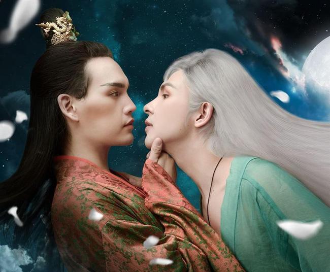 Fan Trung phát cuồng trước độ điển trai của Denis Đặng - mỹ nam có nụ hôn cực ngọt với Nguyễn Trần Trung Quân - Ảnh 5.