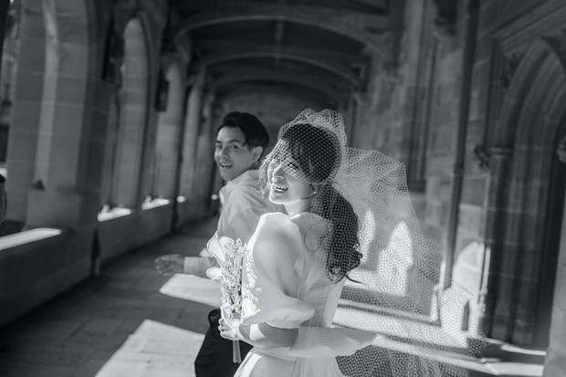 Nhìn Đông Nhi diện váy cưới, để tóc đơn giản mà vẫn xinh ngất, hẳn nàng nào cũng muốn làm bộ ảnh cưới xịn y chang - Ảnh 7.
