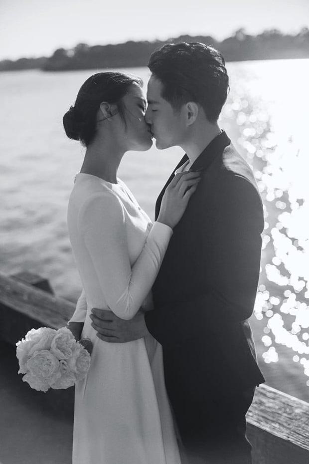Nhìn Đông Nhi diện váy cưới, để tóc đơn giản mà vẫn xinh ngất, hẳn nàng nào cũng muốn làm bộ ảnh cưới xịn y chang - Ảnh 10.