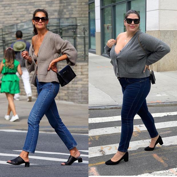 Nàng béo 80kg tự tin nhất thế giới: Cosplay cả dàn sao Hollywood nóng bỏng, chẳng ngán diện đồ bó sát dù lộ đầy nhược điểm - Ảnh 9.