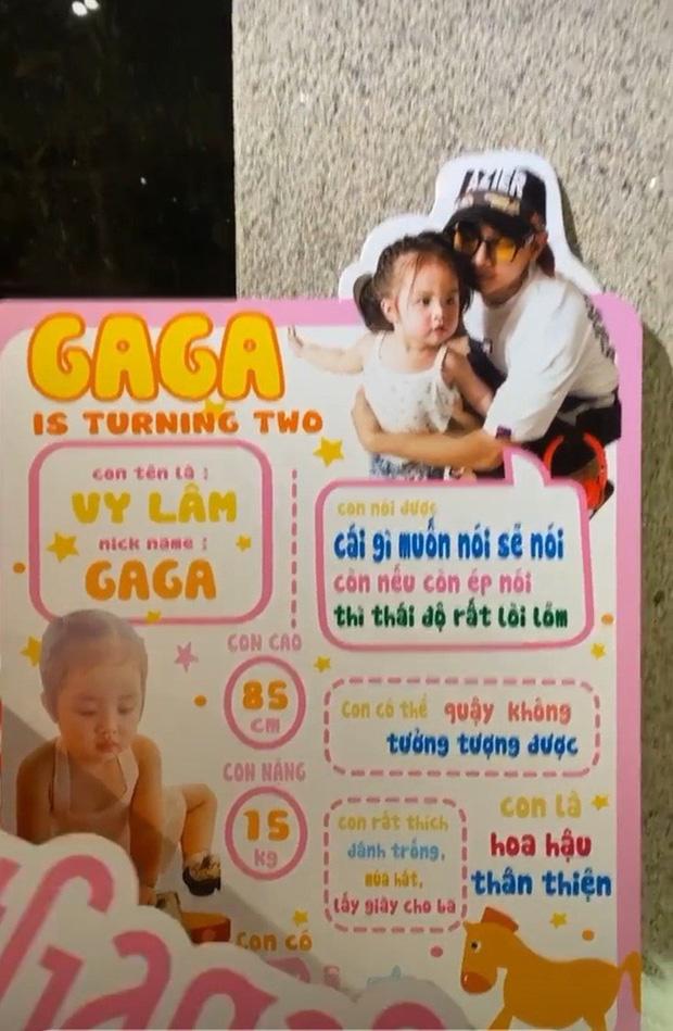 Vợ chồng Hoài Lâm chính thức công khai diện mạo con gái đầu lòng, tiết lộ tên thật của hai công chúa nhỏ - Ảnh 3.