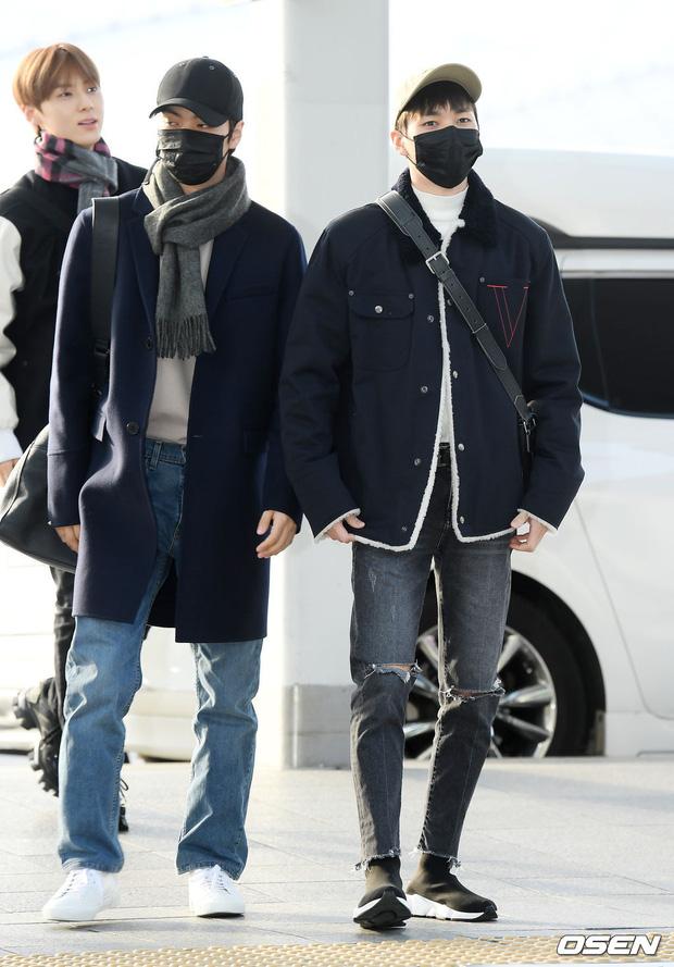 Cập nhật dàn sao từ Hàn sang Việt Nam dự AAA: MOMOLAND, NUEST, em trai BTS vừa khởi hành, sân bay đầy không khí đau buồn - Ảnh 7.