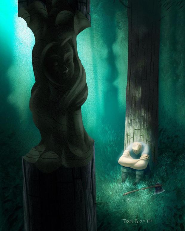 Mất đi người yêu thương đau đến thế nào? Tâm sự của chàng họa sĩ gửi vào bộ tranh gây xúc động mạnh - Ảnh 4.