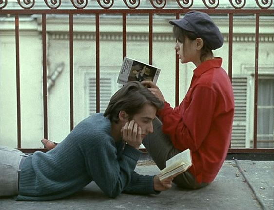 "FilmMad on Twitter: ""Jean-Pierre Léaud and Juliet Berto in 'La Chinoise' #WorldBookDay… """