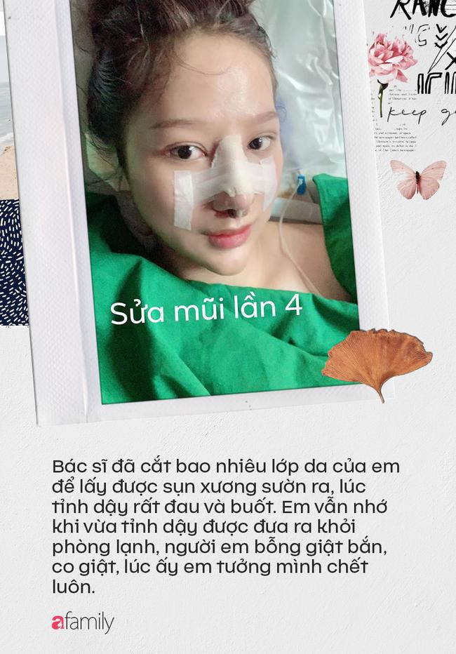 """Câu chuyện """"rùng rợn"""" về cô gái nâng mũi 4 lần đến mức hết sạch sụn tai, từng trầm cảm, muốn chết vì phẫu thuật hỏng - Ảnh 5."""