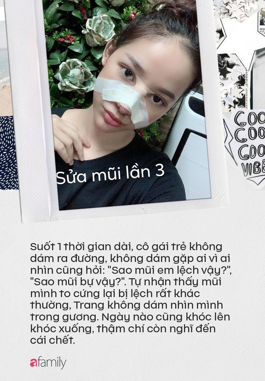 """Câu chuyện """"rùng rợn"""" về cô gái nâng mũi 4 lần đến mức hết sạch sụn tai, từng trầm cảm, muốn chết vì phẫu thuật hỏng - Ảnh 4."""