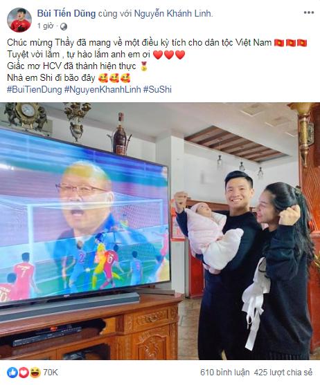 Việt Nam vô địch Sea Games 30, dàn cầu thủ viết nên lịch sử bóng đá nước nhà đã kịp chia sẻ lời cảm ơn đầu tiên sau trận chung kết - Ảnh 5.