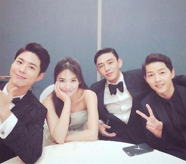 """Mối quan hệ """"chị chị em em"""" của Park Bo Gum - Song Hye Kyo: Từ cậu em chồng tốt nhất showbiz cho tới nghi vấn kẻ thứ 3 đâm sau lưng Song Joong Ki? - Ảnh 6."""