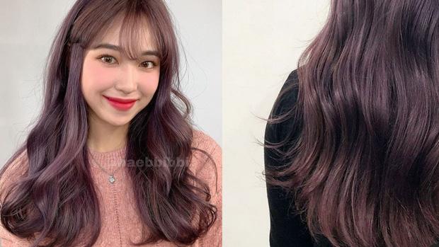Năm mới bạn nên thử nhuộm tóc hồng nâu vì có tới 4 phiên bản, đã không kén da còn đảm bảo xinh lung linh - Ảnh 4.