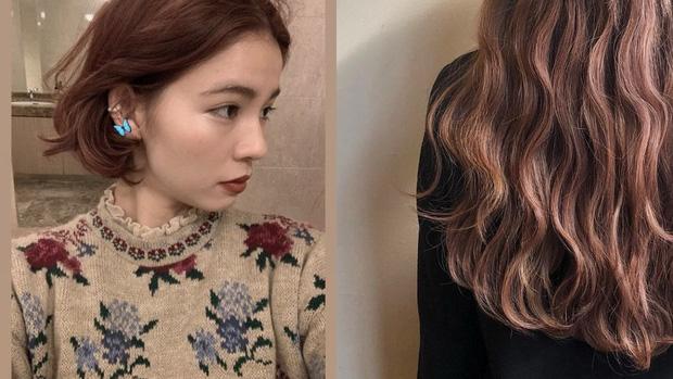 Năm mới bạn nên thử nhuộm tóc hồng nâu vì có tới 4 phiên bản, đã không kén da còn đảm bảo xinh lung linh - Ảnh 1.