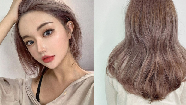 Năm mới bạn nên thử nhuộm tóc hồng nâu vì có tới 4 phiên bản, đã không kén da còn đảm bảo xinh lung linh - Ảnh 3.