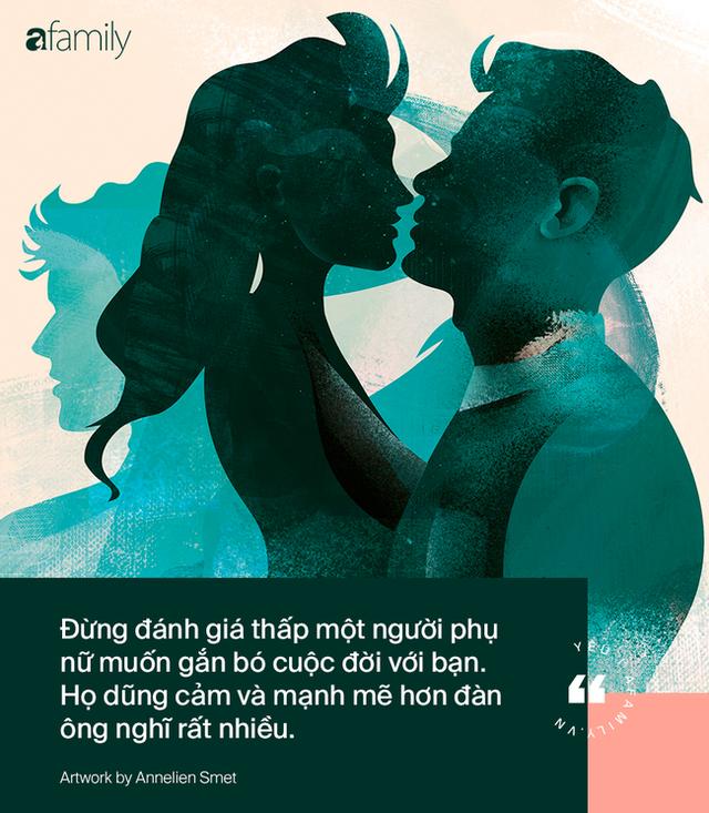 Những chuyện có thật chứng minh: Đàn ông có thể hướng ra trời cao biển rộng nhưng trong tình yêu, phụ nữ lại can đảm hơn họ rất nhiều - Ảnh 2.