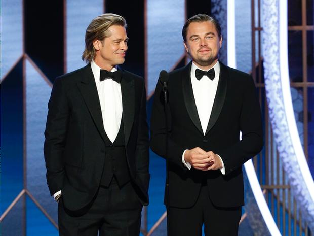 2 tài tử cực phẩm Brad Pitt và Leonardo chung khung hình sau 25 năm: Đúng là 2 người đàn ông quyến rũ nhất hành tinh! - Ảnh 5.