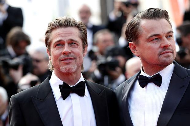 2 tài tử cực phẩm Brad Pitt và Leonardo chung khung hình sau 25 năm: Đúng là 2 người đàn ông quyến rũ nhất hành tinh! - Ảnh 3.