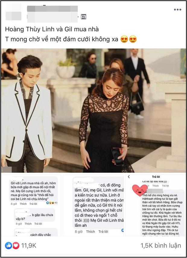 Rộ tin Gil Lê và Hoàng Thùy Linh mua nhà sống chung sau tin đồn tình cảm: Mối quan hệ đã đến mức này rồi sao? - Ảnh 1.