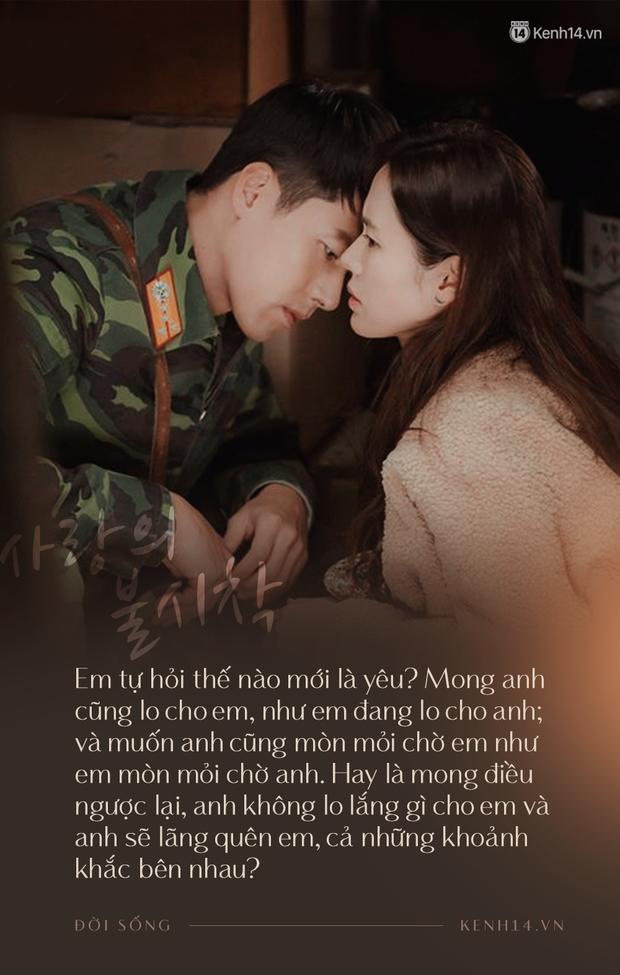 Crash Landing On You với rổ quote ngọt ngào điên dại: Sở thích của em là gì? Là anh Ri Jung Hyuk! - Ảnh 27.