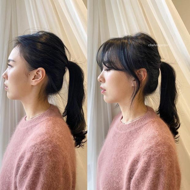 Chùm ảnh lột xác chứng minh sự vi diệu của tóc mái: Hack tuổi thì rõ rồi, nhưng còn che trán thưa hói, nâng tầm nhan sắc tài tình - Ảnh 7.