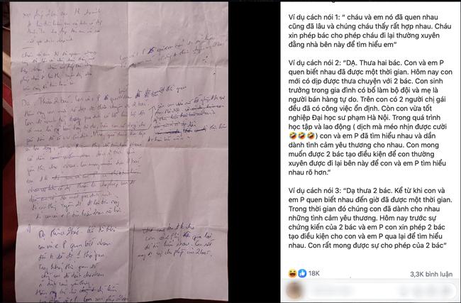 Dọn nhà vô tình tìm được tờ giấy chồng viết trước ngày ra mắt bố mẹ mình, cô vợ thích thú quyết để dành cho con gái đọc còn nội dung khiến dân mạng cực bất ngờ - Ảnh 1.