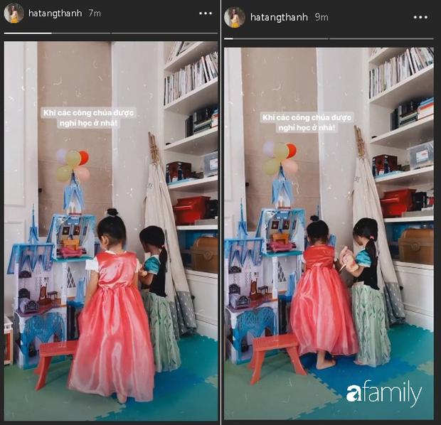 Tiểu công chúa của Vbiz đích thị là con gái Hà Tăng khi được mẹ sắm cho cả loạt váy bồng xòe cổ tích - Ảnh 1.