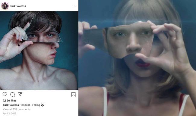 """Sau một hồi tố qua tố lại, netizen tìm ra bằng chứng cho thấy ý tưởng concept của Taylor Swift có thể cũng chỉ là """"đồ đi mượn""""  - Ảnh 2."""