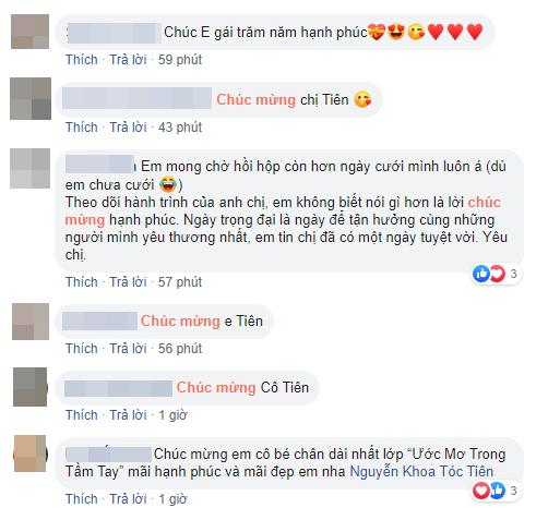 Xuân Lan, Thanh Thảo cùng loạt sao Việt nô nức gửi lời chúc mừng Tóc Tiên sau khi chính thức công khai chuyện kết hôn - Ảnh 5.