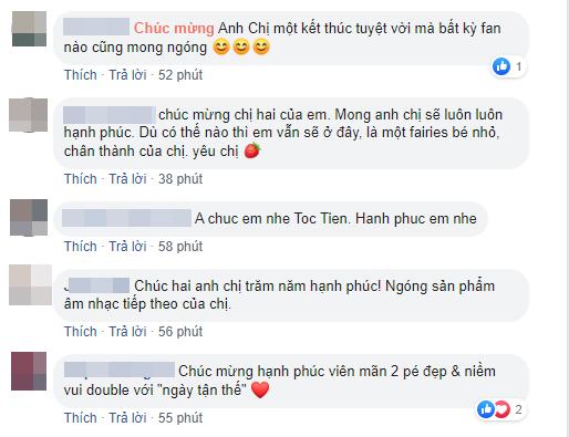 Xuân Lan, Thanh Thảo cùng loạt sao Việt nô nức gửi lời chúc mừng Tóc Tiên sau khi chính thức công khai chuyện kết hôn - Ảnh 6.