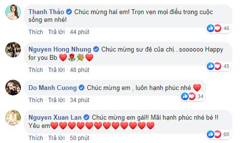 Xuân Lan, Thanh Thảo cùng loạt sao Việt nô nức gửi lời chúc mừng Tóc Tiên sau khi chính thức công khai chuyện kết hôn - Ảnh 3.