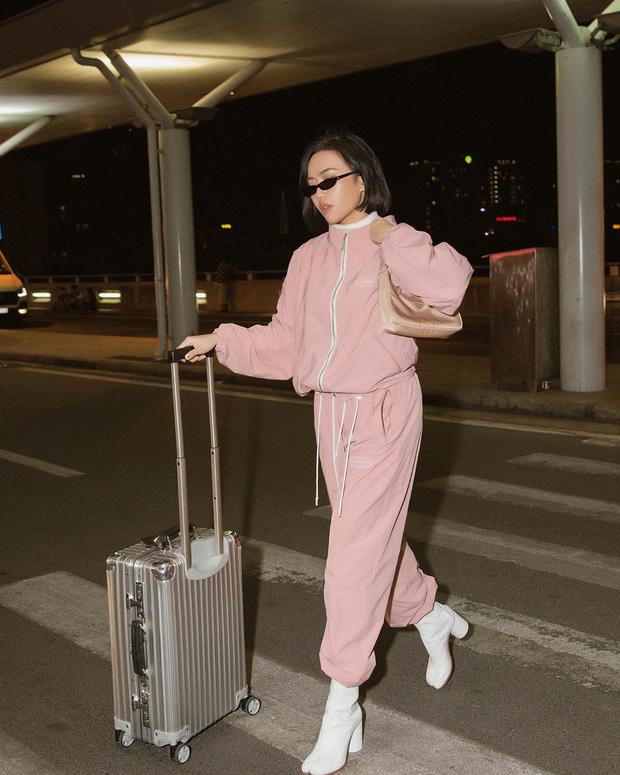Khánh Linh lấn lướt Triệu Lệ Dĩnh, Lâm Tâm Như khi đụng hàng, tiện thể dẫn đầu top street style sao Việt tuần qua - Ảnh 9.