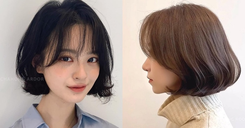 Kiểu tóc che gò má cao - Ảnh 2.