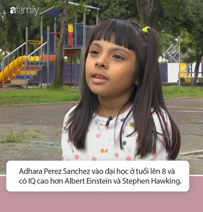Cô bé sinh ra từ làng quê nghèo, có IQ cao hơn cả Einstein, chuẩn bị vào đại học khi mới tròn 8 tuổi - Ảnh 4.