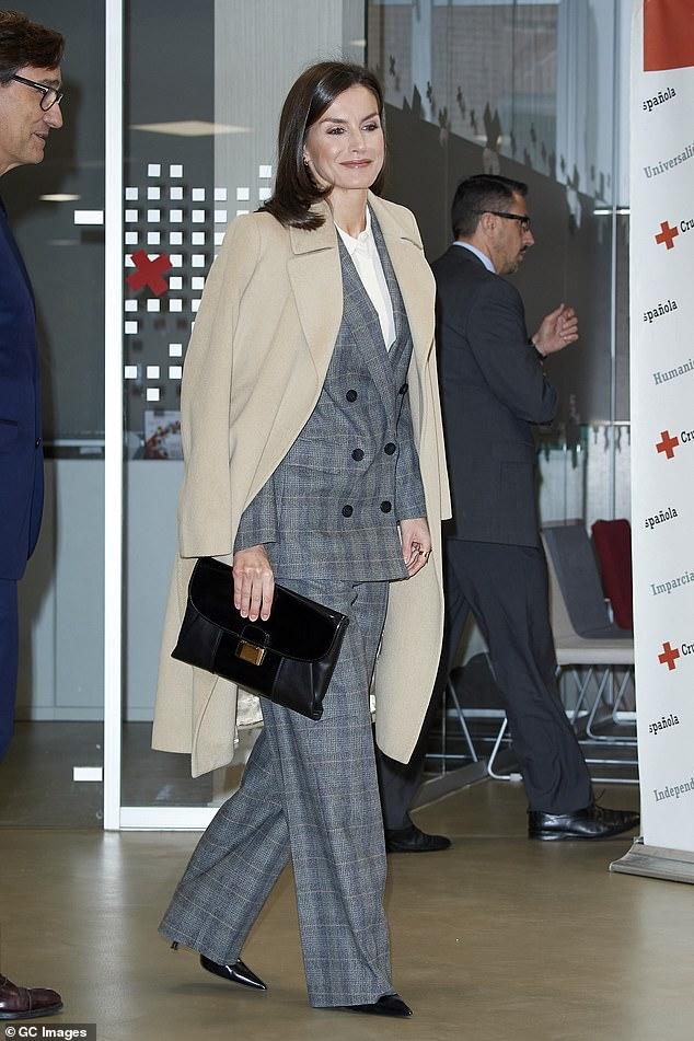 Hoàng hậu Letizia  - Ảnh 7.