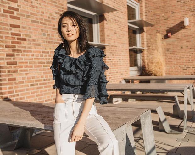 Áo blouse kiểu quý tộc đang được hội chị em sao Hàn mê mệt, bánh bèo là thế nhưng lên đồ lại sang chảnh khó tin - Ảnh 5.