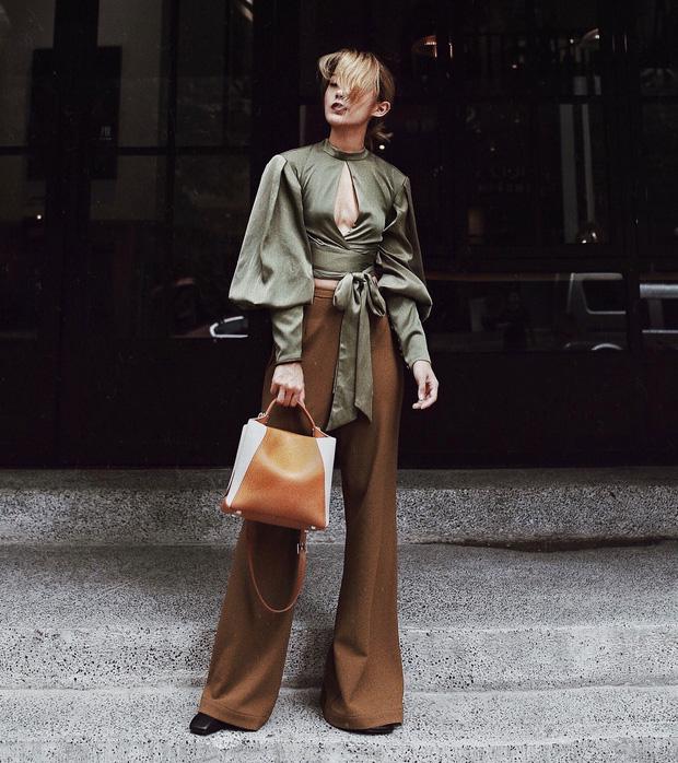 Áo blouse kiểu quý tộc đang được hội chị em sao Hàn mê mệt, bánh bèo là thế nhưng lên đồ lại sang chảnh khó tin - Ảnh 10.
