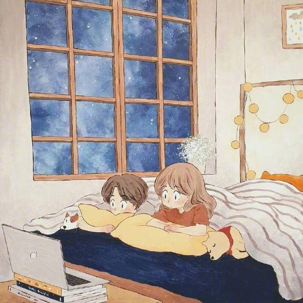 Bộ tranh: Hạnh phúc nhất trên thế gian chính là người bạn thích đúng lúc cũng thích bạn - Ảnh 7.
