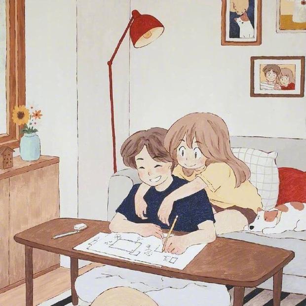 Bộ tranh: Hạnh phúc nhất trên thế gian chính là người bạn thích đúng lúc cũng thích bạn - Ảnh 17.